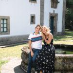 Risas en el pazo de Mariñán en Bergondo