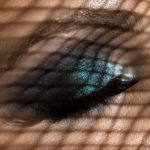 Ojo con sombras y maquillaje